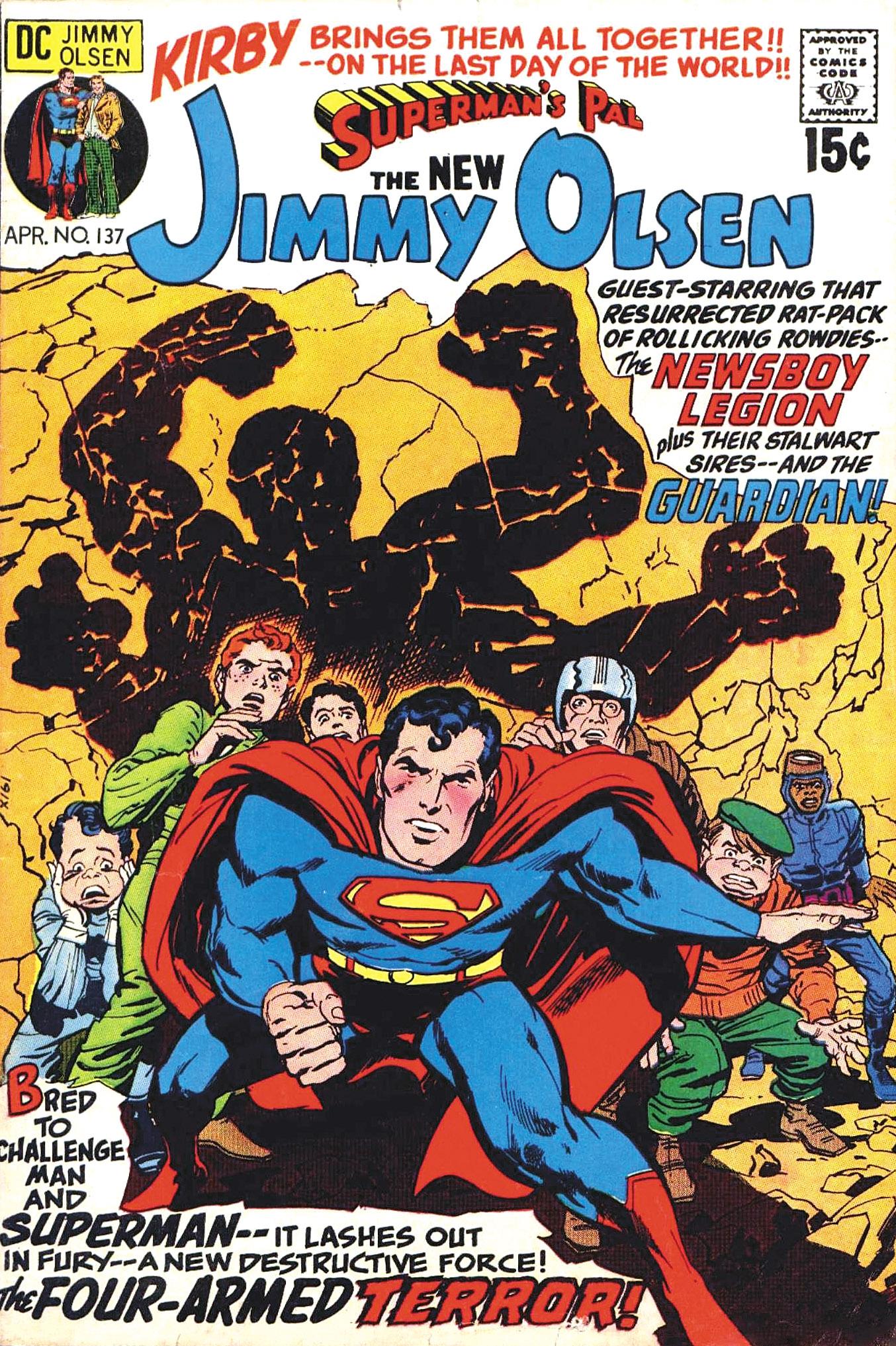 Jimmy Olsen Superman's Pal