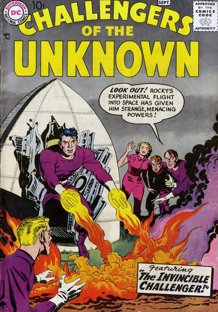 Challengers of The Unknown nº 3