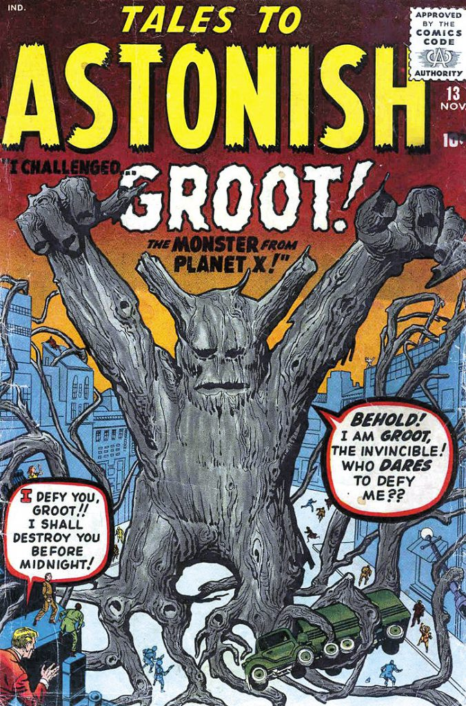 Groot em Tales to Astonish